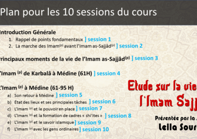 Plan 10 sessions